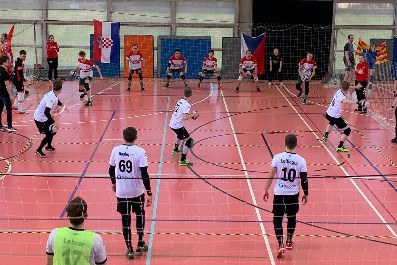 A magyar dodgeball csapat a Central European Dodgeball negyeddontojeben