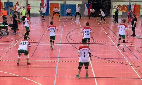 A magyar dodgeball csapat