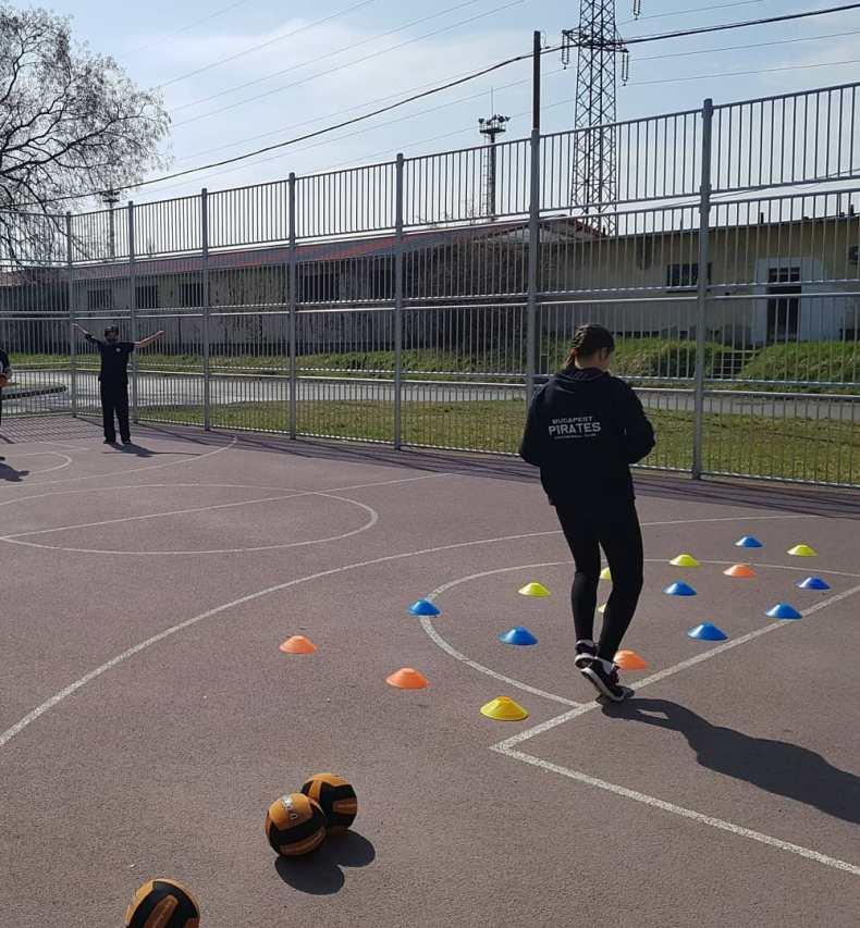 Budapest Pirates Dodgeball szabdteri edzes