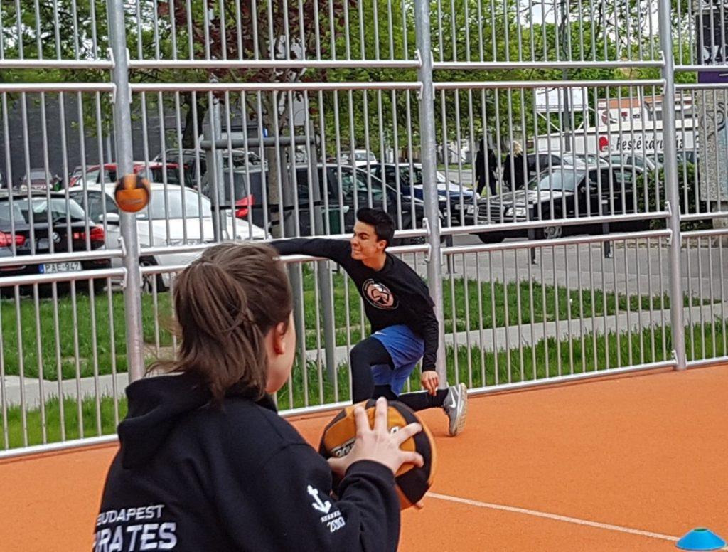 A Budapest Pirates Dodgeball új pályán játszott